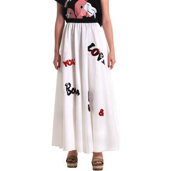 textil Dame Nederdele Fornarina SE172B94CA1609 hvid