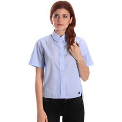 textil Dame Skjorter / Skjortebluser Fornarina SE174567CA1218 Blå