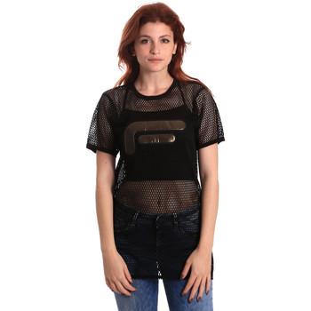 textil Dame Toppe / Bluser Fornarina SE175J69H26600 Sort