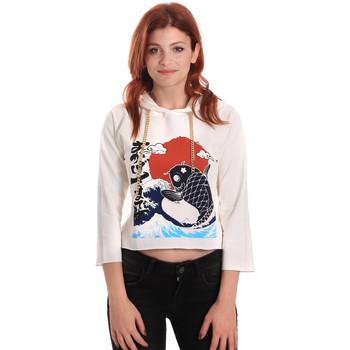 textil Dame Sweatshirts Fornarina SE176842F42709 hvid