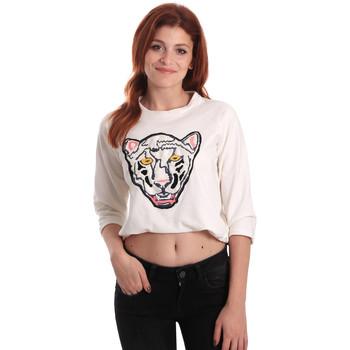 textil Dame Sweatshirts Fornarina SE176844F42709 hvid