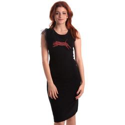 textil Dame Korte kjoler Fornarina SE178D55F42400 Sort