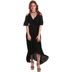 textil Dame Lange kjoler Fornarina SE178D69CA2000 Sort