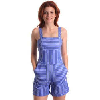 textil Dame Buksedragter / Overalls Fornarina SE178D80CA1411 Blå