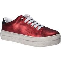 Sko Dame Lave sneakers Fornarina PE17MX1108R076 Rød