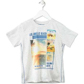 textil Børn T-shirts m. korte ærmer Losan 713 1021AA Grå
