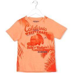 textil Børn T-shirts m. korte ærmer Losan 713 1022AA Orange