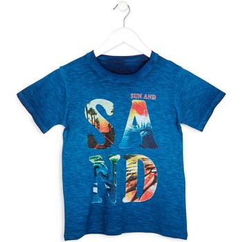 textil Dreng T-shirts m. korte ærmer Losan 713 1023AA Blå