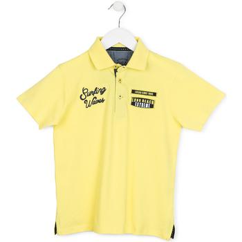 textil Børn Polo-t-shirts m. korte ærmer Losan 713 1032AA Gul