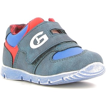 Sko Dreng Lave sneakers Grunland PP0157 Blå