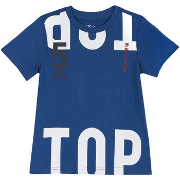 textil Børn T-shirts m. korte ærmer Chicco 09006586000000 Blå