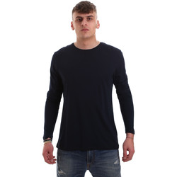 textil Herre Langærmede T-shirts Antony Morato MMKL00264 FA100066 Blå