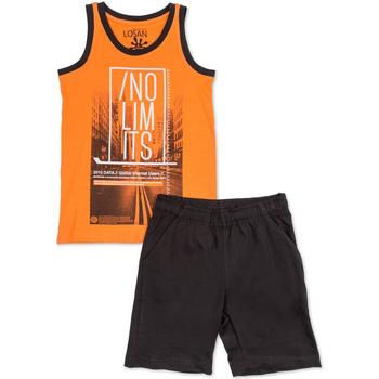textil Dreng Sæt Losan 713 8044AA Orange