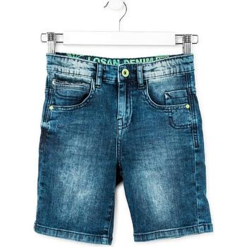 textil Dreng Shorts Losan 713 9006AA Blå