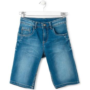 textil Dreng Shorts Losan 713 9660AA Blå