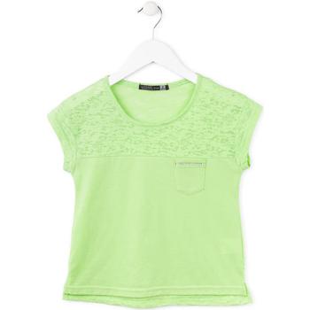 textil Pige T-shirts m. korte ærmer Losan 714 1013AB Grøn