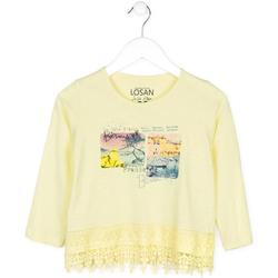 textil Børn Pullovere Losan 714 1031AB Gul