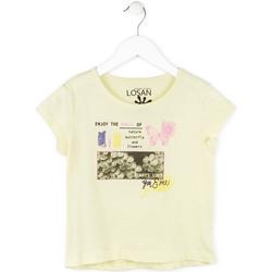 textil Pige T-shirts m. korte ærmer Losan 714 1208AB Gul