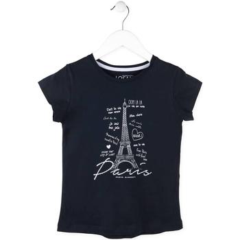 textil Pige T-shirts m. korte ærmer Losan 714 1210AB Blå