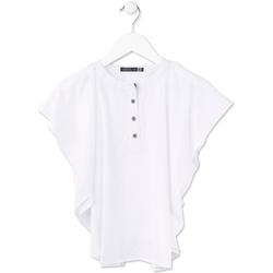textil Pige Toppe / Bluser Losan 714 3002AB hvid