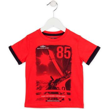textil Dreng T-shirts m. korte ærmer Losan 715 1001AC Rød