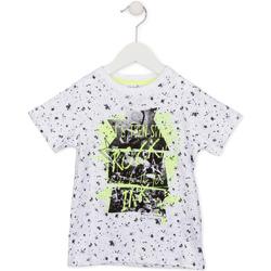 textil Børn T-shirts m. korte ærmer Losan 715 1008AC hvid