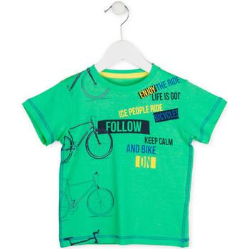 textil Dreng T-shirts m. korte ærmer Losan 715 1014AC Grøn
