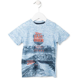 textil Dreng T-shirts m. korte ærmer Losan 715 1018AC Blå