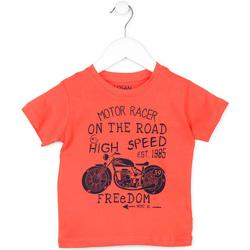 textil Børn T-shirts m. korte ærmer Losan 715 1215AC Orange