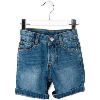 textil Dreng Shorts Losan 715 9662AC Blå
