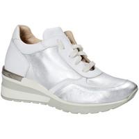Sko Dame Lave sneakers Exton E06 Sølv