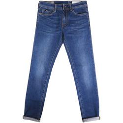 textil Herre Smalle jeans Gas 351177 Blå