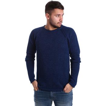 textil Herre Pullovere Gas 561872 Blå