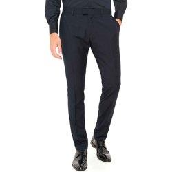 textil Herre Chinos / Gulerodsbukser Antony Morato MMTR00369 FA600040 Blå