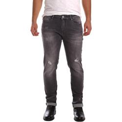 textil Herre Smalle jeans Gaudi 721FU26001 Sort