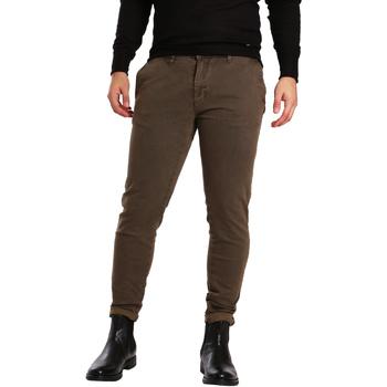 textil Herre Chinos / Gulerodsbukser Gaudi 721BU25007 Brun