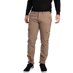 textil Herre Cargo bukser Gaudi 721BU25019 Beige
