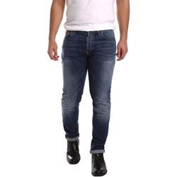 textil Herre Smalle jeans 3D P3D1 2659 Blå