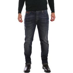textil Herre Smalle jeans 3D P3D1 2667 Blå