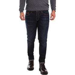 textil Herre Smalle jeans 3D P3D6 2659 Blå