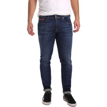textil Herre Smalle jeans 3D P3D6 2667 Blå
