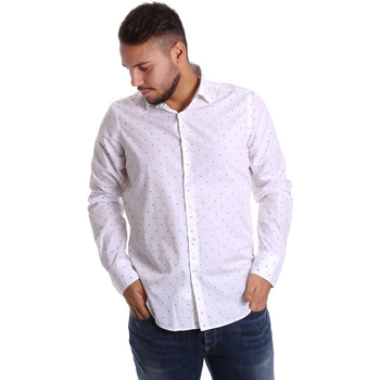 textil Herre Skjorter m. lange ærmer Gmf 972156/03 hvid