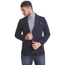 textil Herre Jakker / Blazere Sei3sei PZG9 7291 Blå