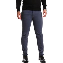 textil Herre Lærredsbukser Sei3sei PZV16 7239 Blå