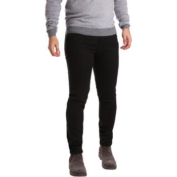 textil Herre Lærredsbukser Sei3sei PZV17 7257 Sort