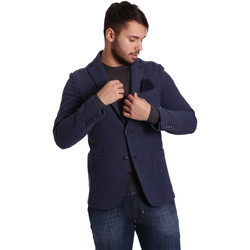 textil Herre Jakker / Blazere Sei3sei PZG9 7290 Blå