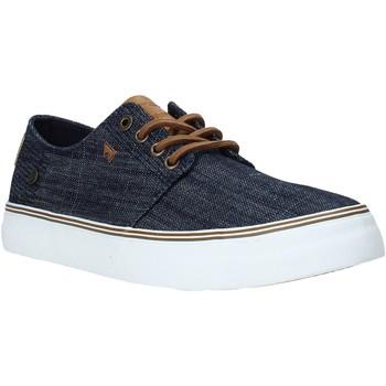 Sko Herre Lave sneakers Wrangler WM01021A Blå