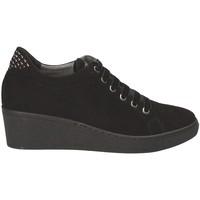 Sko Dame Lave sneakers Grunland SC3524 Sort