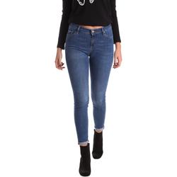 textil Dame Jeans - skinny Gas 355652 Blå