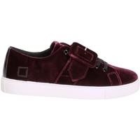 Sko Dame Lave sneakers Date W271-AB-VV-PU Violet